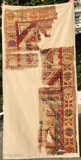 Fragment   Region Konya   Central Anatolia   Early 19th century