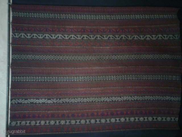 Antique Bidjar jajim from end 19th century. Overall in good condition. 165*235cm UPS OR PTT shipping based on your order.