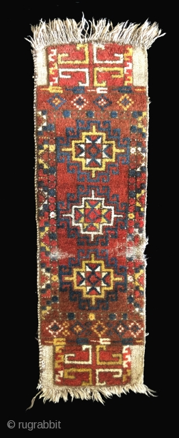 Uzbek tent bag face with side panels. Central Asia/Afghanistan.  Late 19th century.  These are called napramatsch (sp?) and were made as bags that had a face with side panels woven  ...