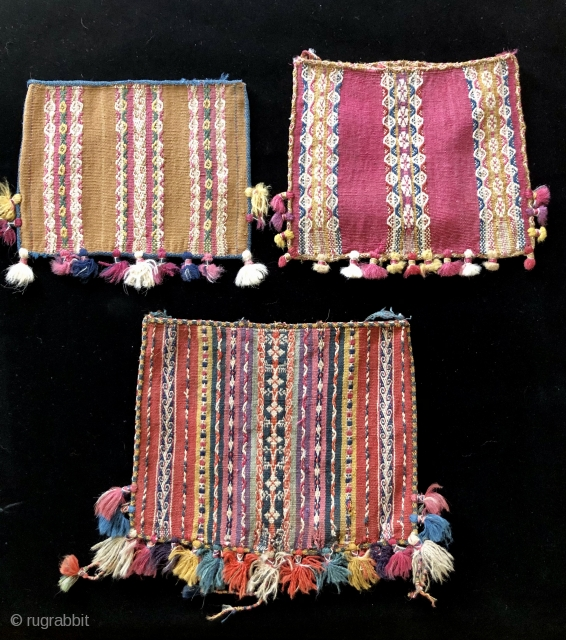 Tutorial part 4 – Coca bags from the Bolivar region  The three bags featured here are from the region of Bolivar in the province of Arque, department of Cochabamba, Bolivia.  This is  ...