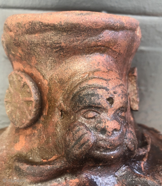 Feeling like this nowadays?  Here's a possible diversion! Strange ceramic from Bolivia.  Probably from the 19th century, it's a unique ceramic pitcher that definitely has a story to tell. The  ...