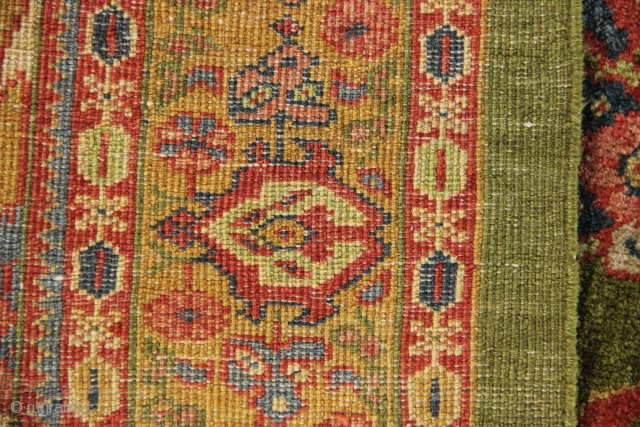 """Small And very fine Ziegler & Co rug 4'9"""" x 6'6"""""""