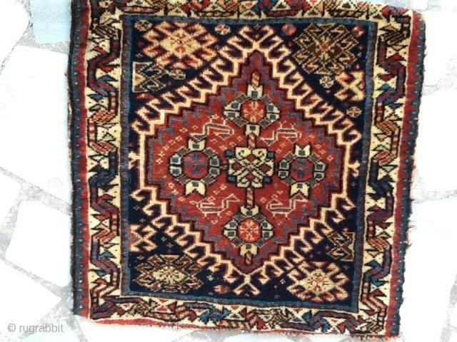 Kamseh sadle bag very nice color full condition