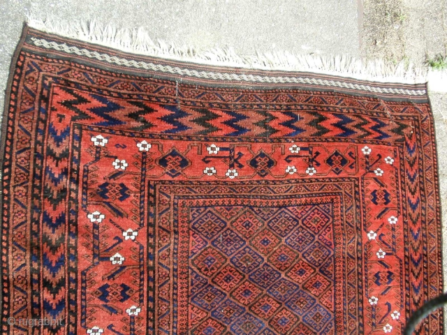 X X L Antique Baluch end of 19th century 