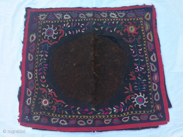 Kirgiz Embroidered on felt. (horse cover) 