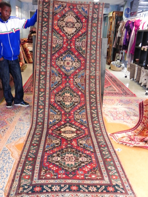 Karabagh Runner Size 3.40 x 1.03 m