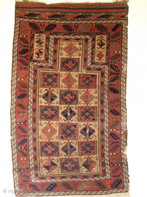 Timuri prayer rug with good age, size:141 x 85cm. www.knightsantiques.co.uk