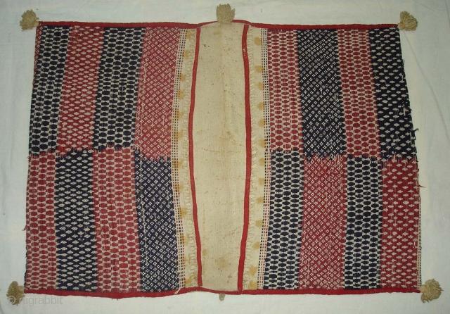 Jhul From Saurashtra Gujarat.India.Early 19th Century.