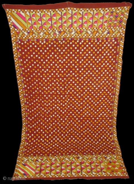 Phulkari From East (India)Punjab.known as Buti Phulkari(DSC01009 New).