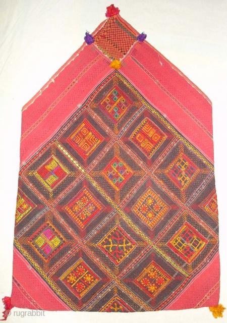 Banjara Bujki Dorry Bag From Madhiya Pradesh.India.known As Mathura Embroidery Bujki Bagh.