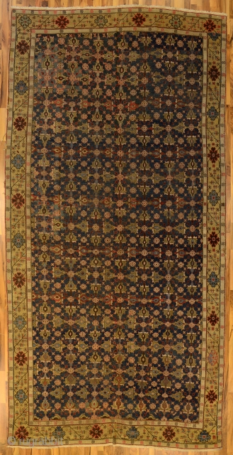 East Caucasian, probably Kuba, 18th century, 435x216cm, reduced in length and width
