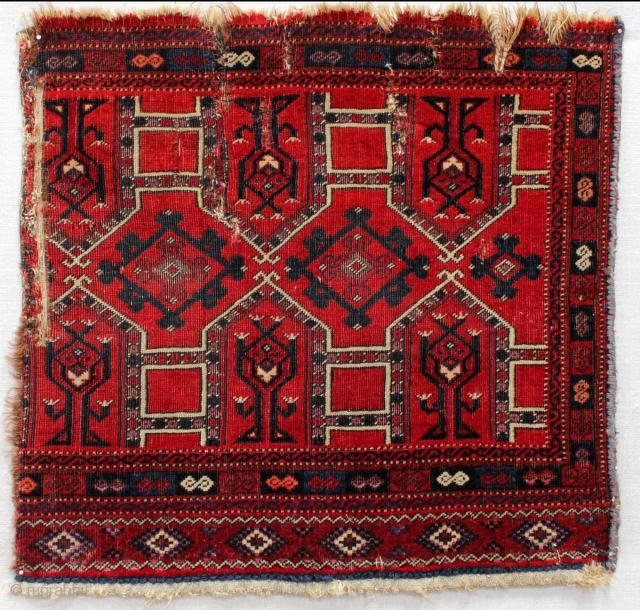 Early Salor Kejebe Torba fragment,52x50cm