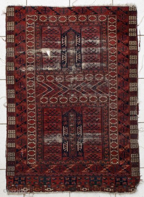 Early Ersari ensi, ca. 170x123cm