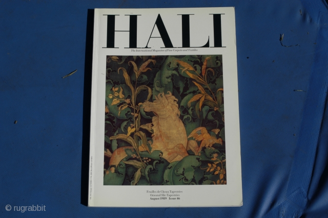 Hali Issue 46, Special tapestry edition. OK condition.