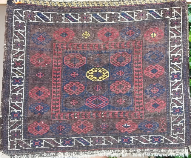 Beloutch Bag, probably Timuri, 74 x 62, very fine knot Price upon request
