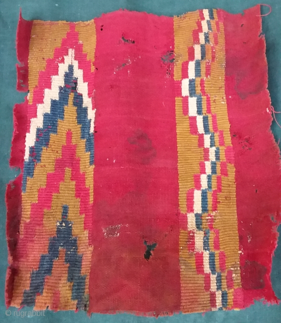 Pre-Colombian textile 30 x 25 Price upon request
