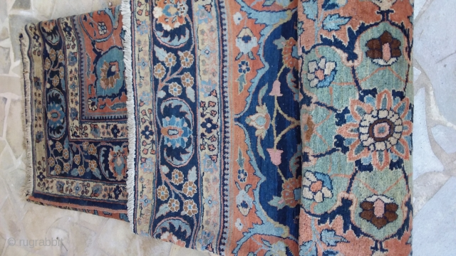 Tabriz Kory  280 x 370 need to be cleanig Price upon request