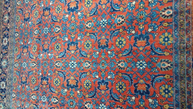 Tabriz 370 x 265, good pile, circa 1902. Price upon request