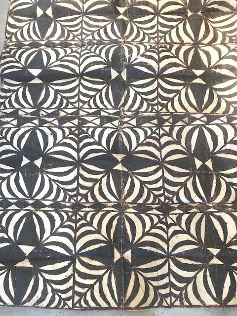 Tapa cloth Samoa , nice old one