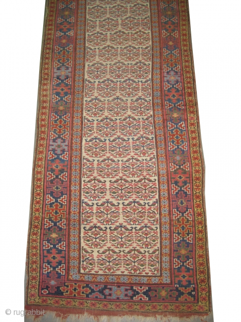 "Louristan Persian circa 1875 antique. Collector's item, Size: 440 x 99 (cm) 14' 5"" x 3' 3""  carpet ID: K-5803