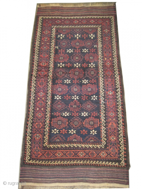 "Belutch Persian circa 1915 antique. Collector's item, Size: 170 x 95 (cm) 5' 7"" x 3' 1"" 