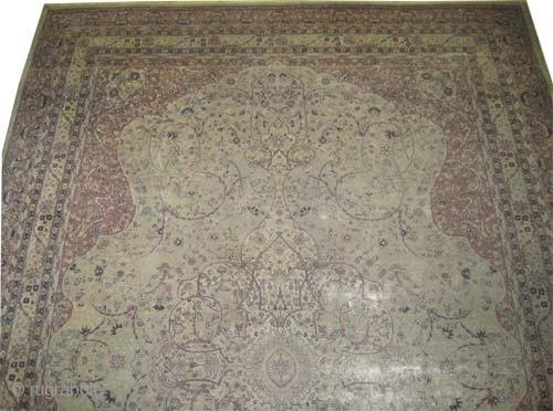"Sivaz Anatolian circa 1915 antique. Size: 456 x 310 (cm) 14' 11"" x 10' 2""  carpet ID: P-5393