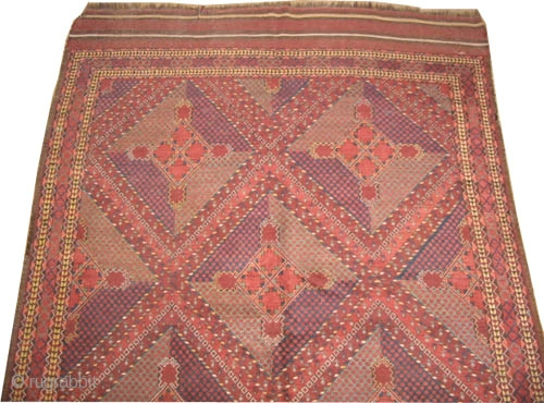 "Beshir Turkmen circa 1885 antique. Collector's item. Size: 516 x 205 (cm) 16' 11"" x 6' 9""  carpet ID: H-0461