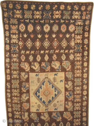 "Moroccan carpet, Size: 274 x 131 (cm) 9'  x 4' 4""  carpet ID: K-4609
