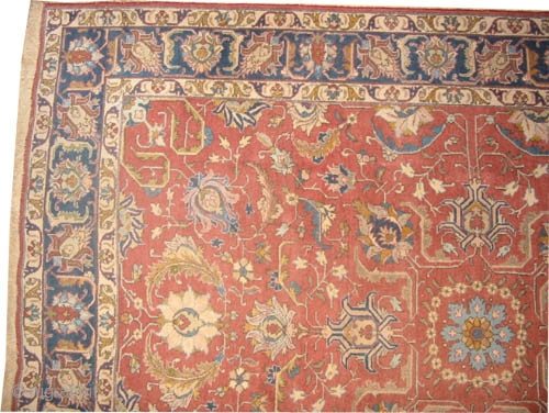 "Tabriz Persian circa 1930 semi-antique, Size: 315 x 223 (cm) 10' 4"" x 7' 4""  carpet ID: P-5254 