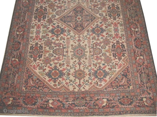 "Mahal Persian circa 1920 semi-antique, Size: 320 x 227 (cm) 10' 6"" x 7' 5""  carpet ID: P-5340