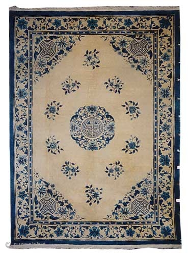 "Chinese Beijing circa 1930 Semi antique, Size: 328 x 240 (cm) 10' 9"" x 7' 10""  carpet ID: P-5634