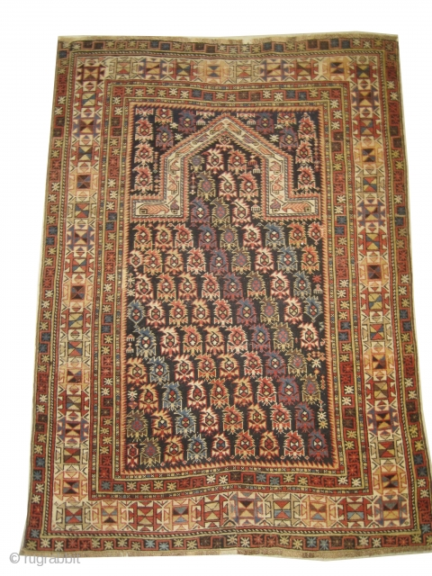 Marasali prayer Caucasian knotted circa 1915 