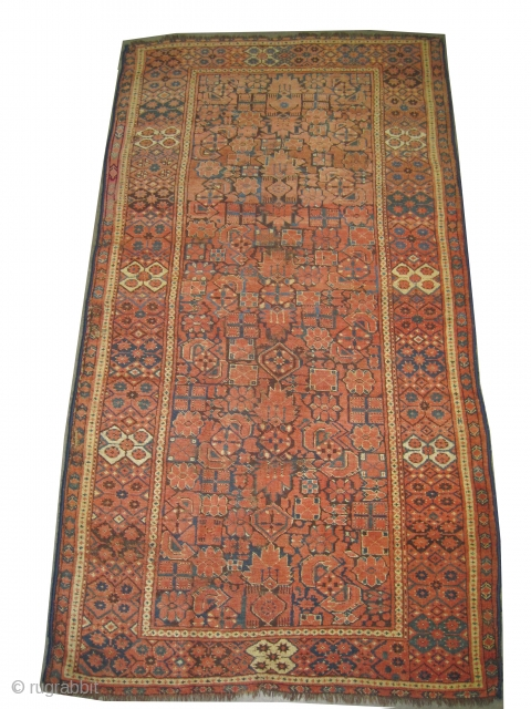 """Beshir Turkmen, antique. Size: 234 x 126 (cm) 7' 8"""" x 4' 2"""" feet, CarpetID: K-1216  Vegetable dyes, the warp and the weft threads are 100% wool, the pile is uniformly short,  ..."""