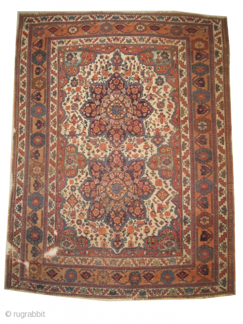 """Afshar Persian circa 1910. Antique, collector's item, Size: 170 x 128 (cm) 5' 7"""" x 4' 2""""  carept ID: RSZ-9  the knots are hand spun wool, the warp and the weft  ..."""