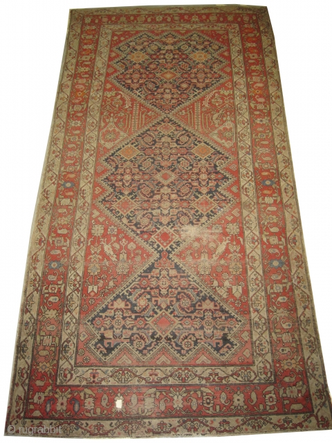 "Malaier Persian circa 1910  Size: 296 x 151 (cm) 9' 8"" x 4' 11""  carpet ID: RSZ-8 