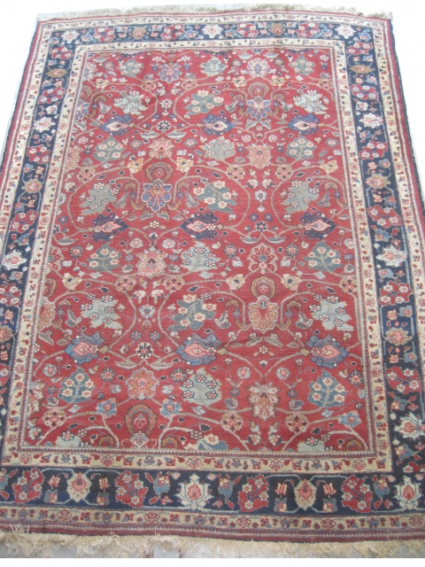 "Tabriz Persian circa 1920, Size: 295 x 215 (cm) 9' 8"" x 7' 1""  carpet ID: P-5985 