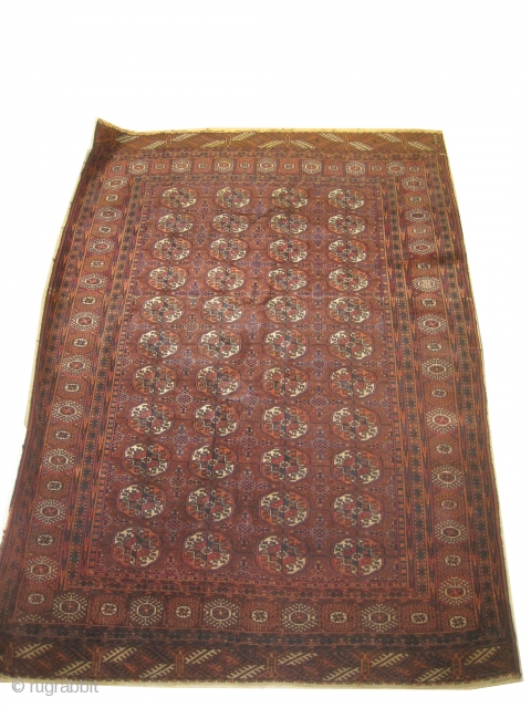 Boukhara Turkmen, circa 1925, semi-antique, Size: 142 x 200 cm, Carpet ID: ROB-6