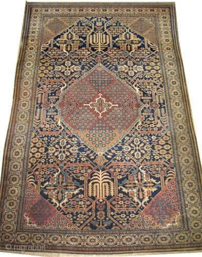 """Mohtashem-Kashan Persian knotted circa in 1890 antique, collector's item, 299 x 196 (cm) 9' 10"""" x 6' 5""""  carpet ID: K-5793  Fine knotted, high pile, in good condition, soft, high standard  ..."""