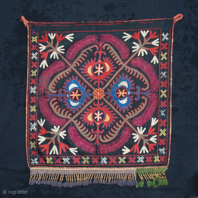 kirghiz embroidery, circa late 19th century/1900. All natural dyes.