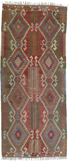 Antique west anatolian Kilim. 
