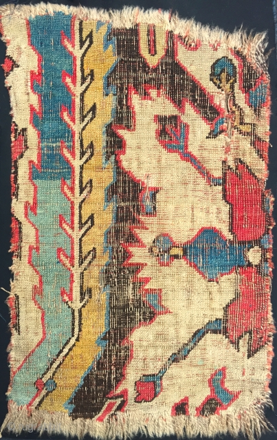 Caucasian fragment, 17/18th c., worn