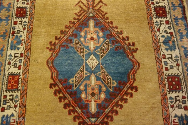Antique runner knotted in the village of SARAAB, Azerbaijan region, north Persia.
