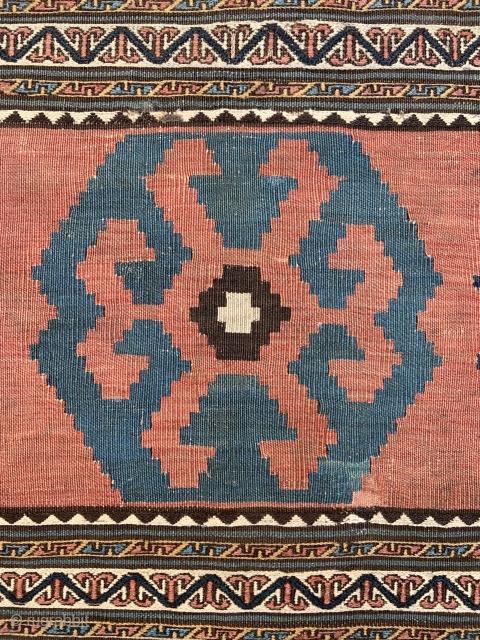 Shahsavan Mafrash panel - 1'10 x 3'6 - 56 x 106 cm.