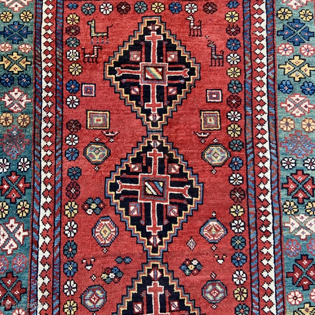 Beautiful North Persian Kelardasht Rug - 4'0 x 9'5 / 120 x 290 cm