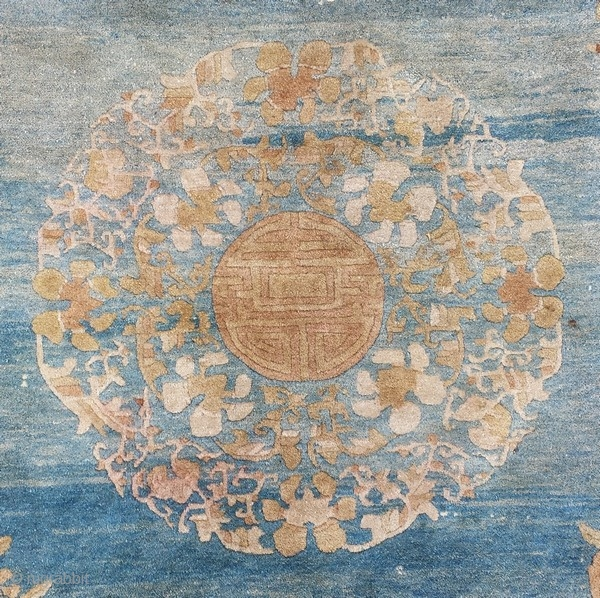 Antique Chinese carpet 270 x 180 cm, need some restorations, for more pics just ask