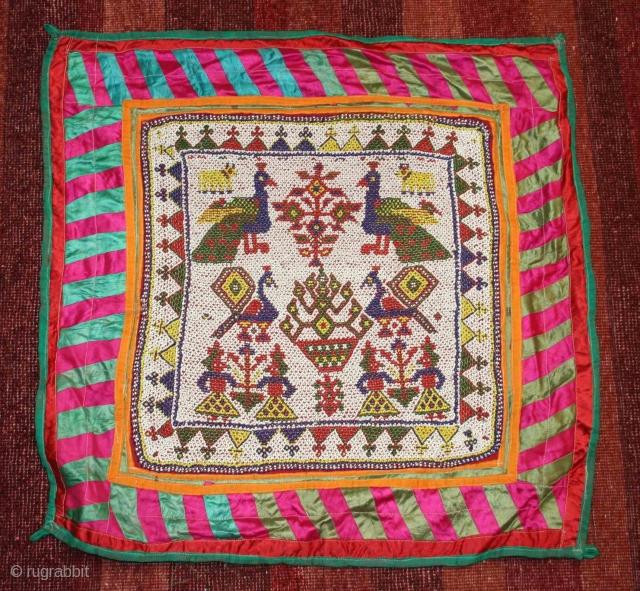 Kathi Bead Work Chakla 20th Century Kathi Tribals