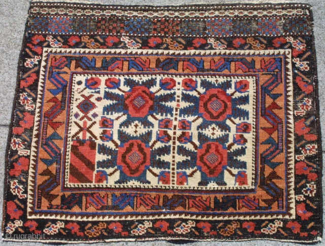 # 2476 Afshar Bagface Southeast Persia, 19th Century size 2-0 x 2-7 ft