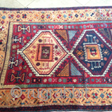 turkish kuord rug late 19th great color  never touch some place the black color is oxid size : 1.06 X 2.42 cm