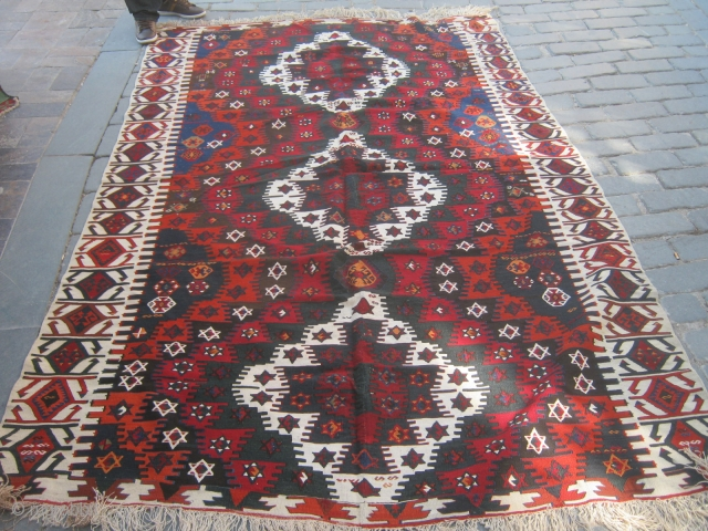 Central Anatolian Kilim.Mint condition.180x300cm