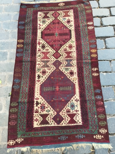 South-East Anatolian Reyhanlı kilim.86x160cm